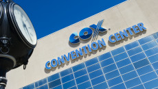 The Cox Convention Center will be replaced with a new downtown convention center as part of MAPS 3. (File)