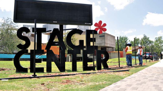 Stage Center closes for demolition in Oklahoma City, Okla.