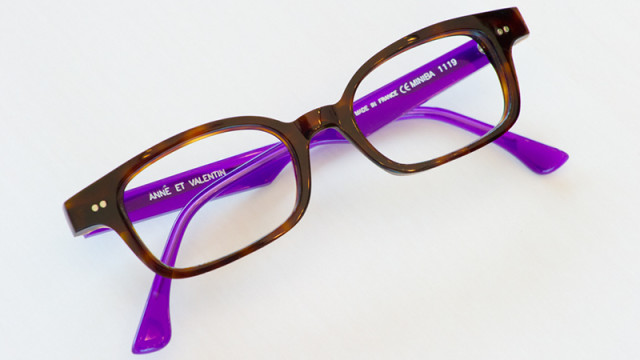 Anne Et Valentine eyeglasses can be found at Black Optical located in Classen Curve. (Shannon Cornman)