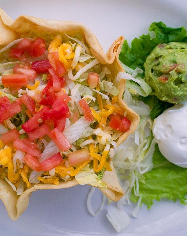 Taco salad at Casa Perico. (Mark Hancock)