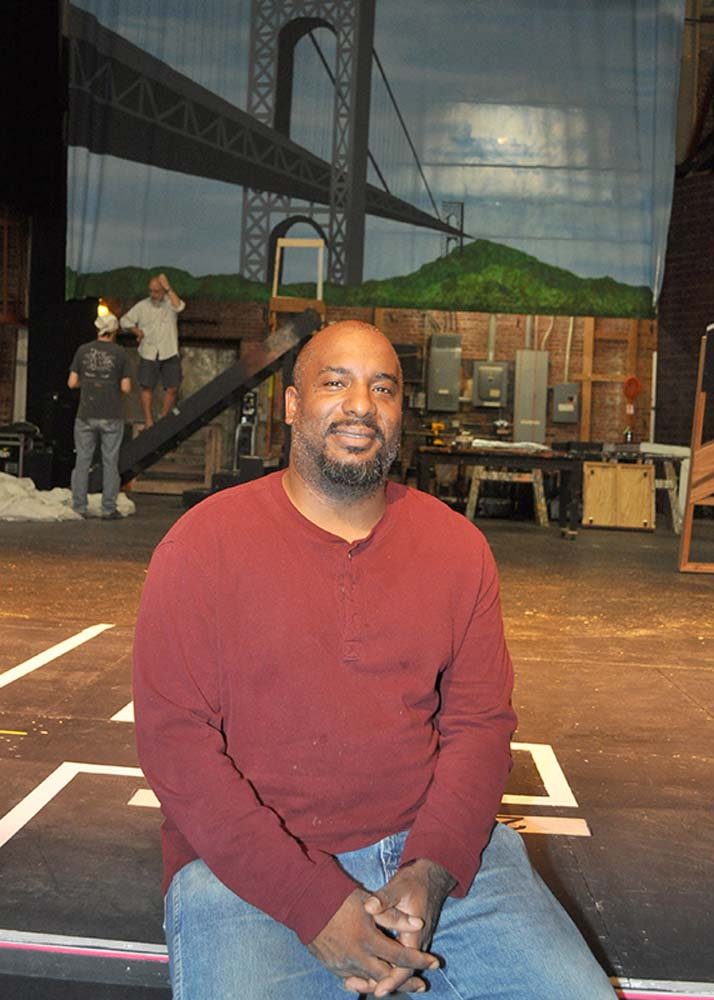 The Pollard Theatre's W. Jerome Stevenson (Lauren Hamilton)