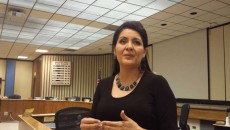 Gloria Torres was appointed to the OKC school board on Monday night. (Ben Felder)