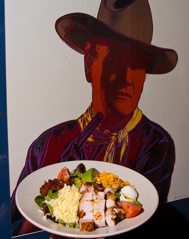 Iron Star cobb salad. (Mark Hancock)