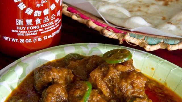 Mutton Achaari at Kabob and Curry. (Shannon Cornman)