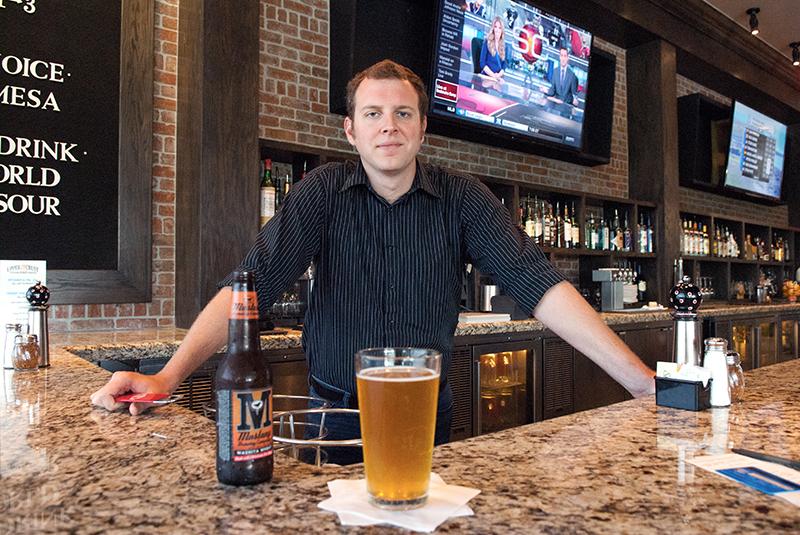 A Mustang Washita Wheat beer. (Mark Hancock)