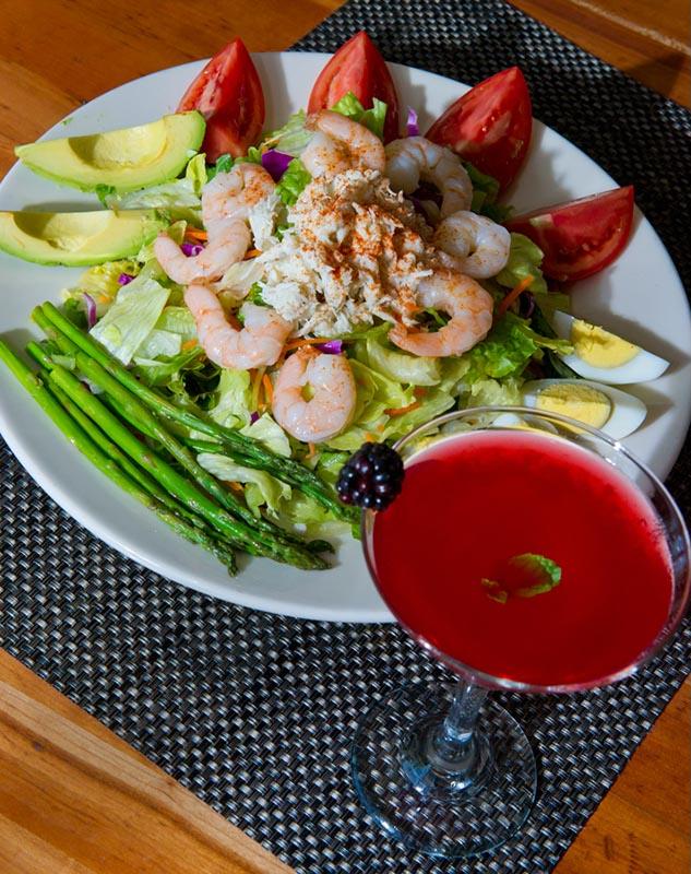 The Tabasco Caesar salad at Pear's Oyster Bar. (Shannon Cornman)