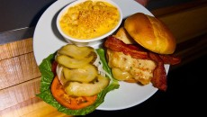 The CCB Sandwich and mac and cheese (Mark Hancock)