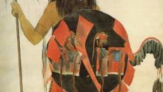 """""""Mandan Buffalo Dancer"""" by Karl Bodmer (Provided)"""