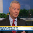 "OKC mayor Mick Cornett on ""Meet the Press."""