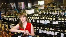 Amie Hendrickson is a sommelier at Edmond Wine Shop, 1520 S. Boulevard in Edmond. (Mark Hancock)