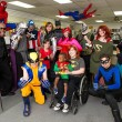A super hero Saturday at New World Comics.Photo/Shannon Cornman