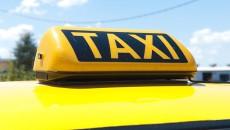 TAXI light atop a Thunder Cab.  (Mark Hancock)