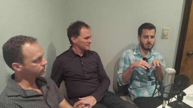 Ben Sellers, David Wanzer and Jonathan Dodson were this week's guests on the Capital City Podcast. (Ben Felder)