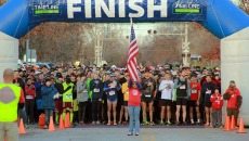 Runners line up at last year's Edmond Turkey Trot.(PROVIDED)