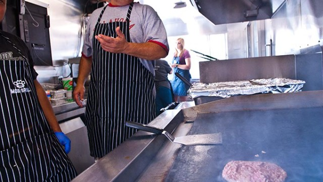 MOB Grill food truck (Mark Hancock)