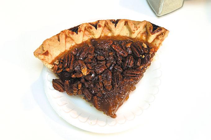 Mama E's pecan pie. (Mark Hancock)