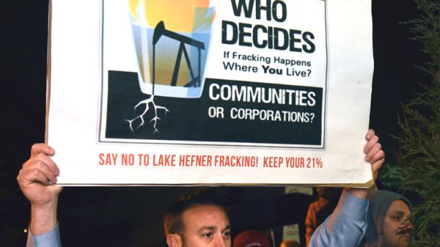 Fracking protester Joey Welle_6808mh
