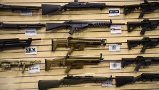 Can you say assalt weapons, at Wilshire Gune Range.  mh