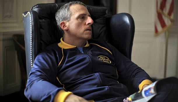 Steve Carrell takes a dramatic turn in Foxcatcher. (Provided)