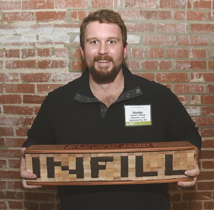 Bleu Garten's Hunter Wheat won an award for best small scale infill development. (Mark Hancock)
