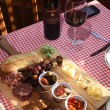 Gabriella's Italian Grill & Pizzeria-the Antipasto Board with wine.  mh