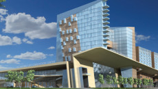 A rendering of what a new downtown convention center might look like. (City of OKC)