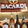 Bourbon selection and neon at Pocho's Liquortown.  mh