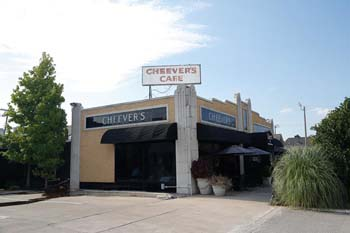 Cheever's Cafe in Oklahoma City, Wednesday, Aug 5, 2015.  (Garett Fisbeck)